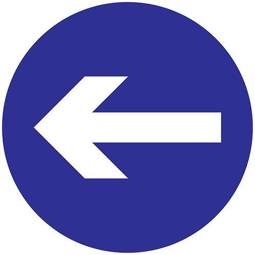 Customer Directional Arrow Floor Graphic