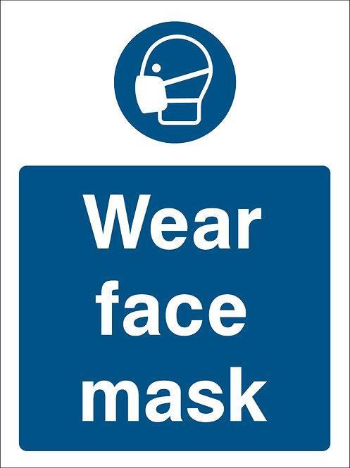 Wear Face Mask (PPE0035)