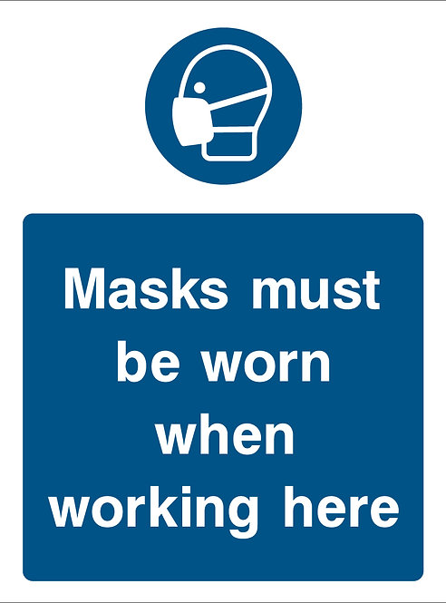 Masks Must Be Worn (PPE0036)