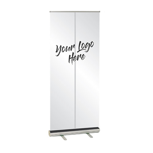 Freestanding Mobile Clear Pull Up Safety Screen