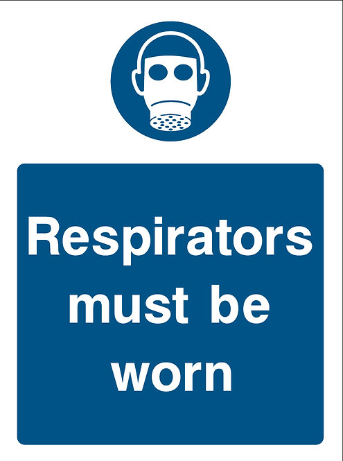 Respirators Must Be Worn (PPE0041)