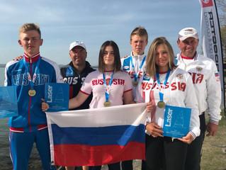 Валерия Ломатченко- бронзовый призер Первенства Европы