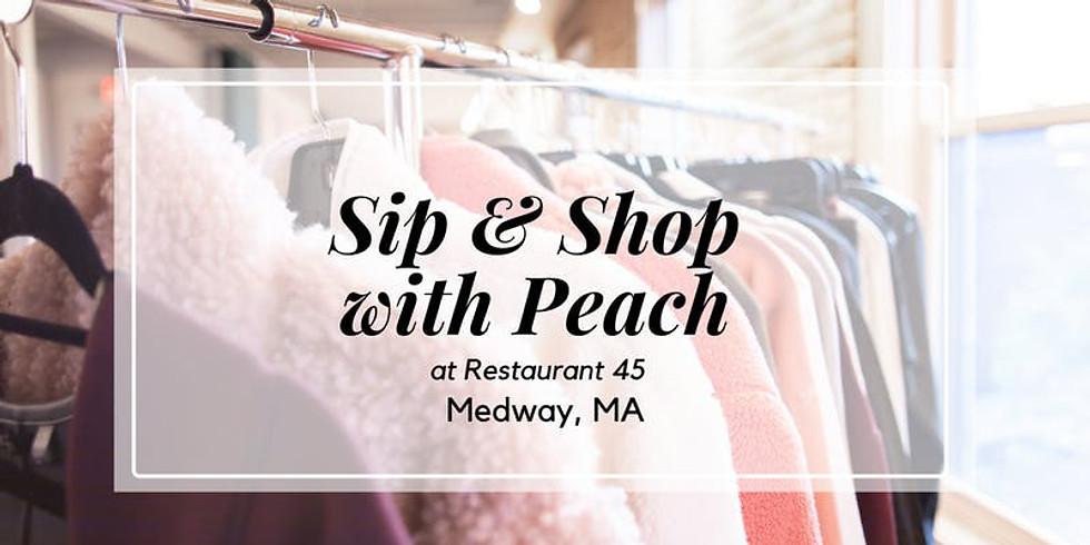 Peach Sip & Shop