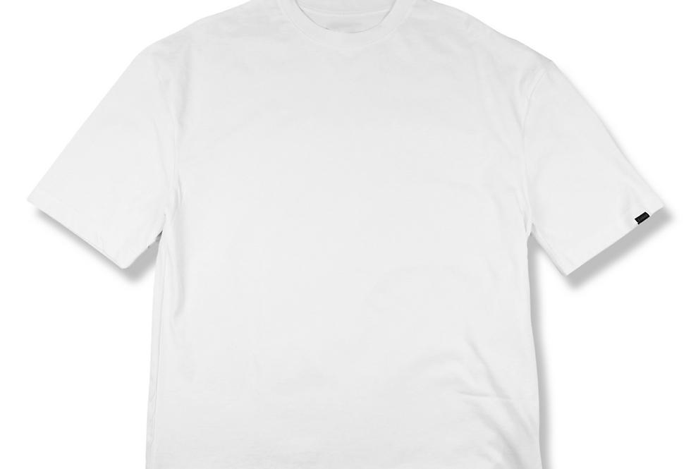 Beyaz Basic Oversize T-shirt