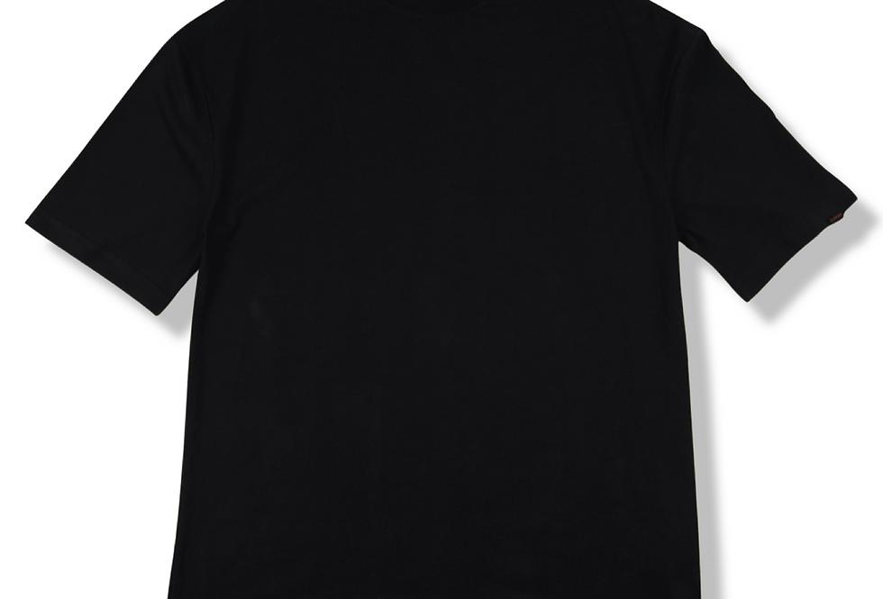 Siyah Basic Oversize T-shirt