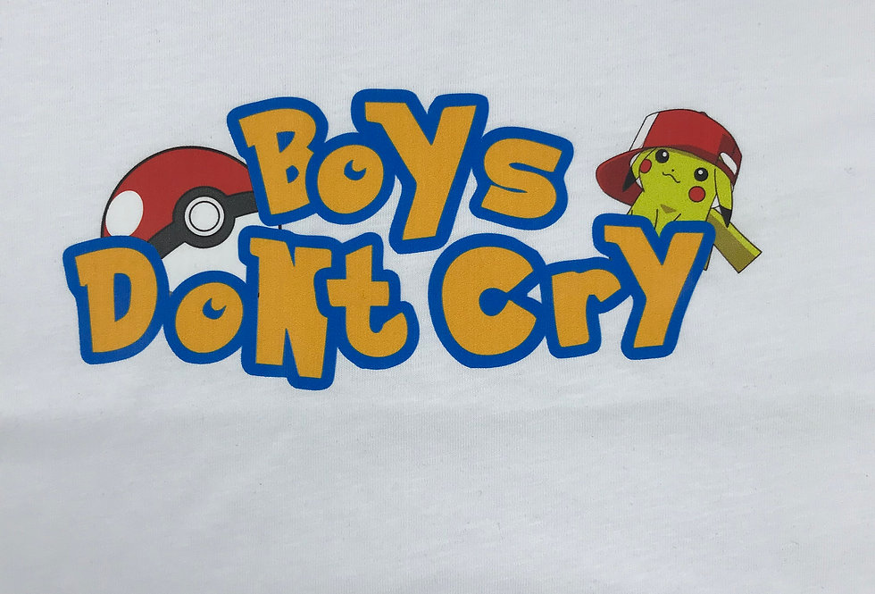 Boys Don't Cry Oversize T-shirt
