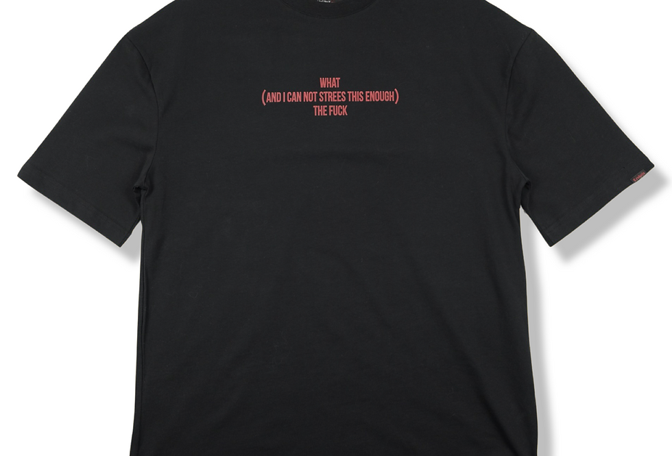 Wtf Oversize T-shirt