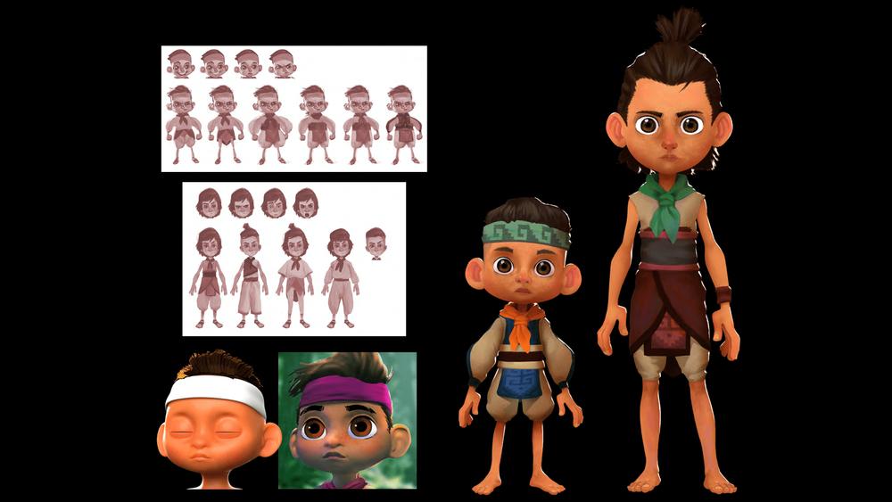 En el Bosque-characters