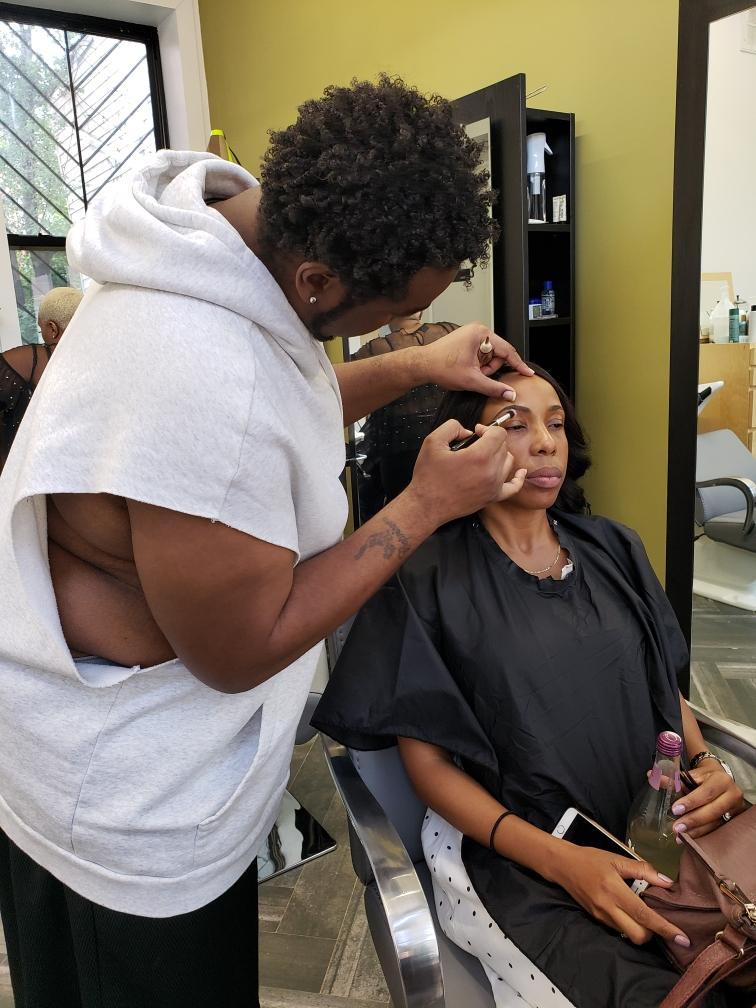 We provide makeup sessions as well.