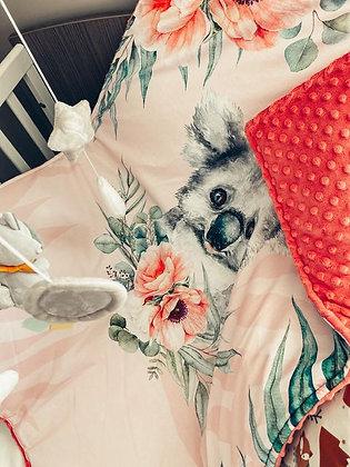Couverture orange koala