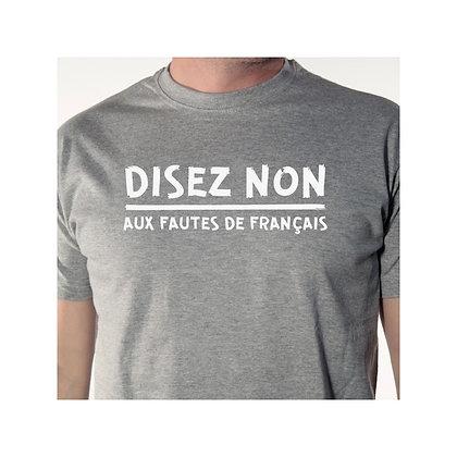 Disez non aux fautes de français