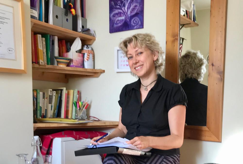 Sarah Clark at Mariposa Coaching