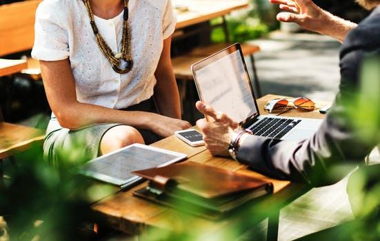 Business meeting leadership
