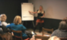 Mariposa coaching delivering group coaching and training in a workplace