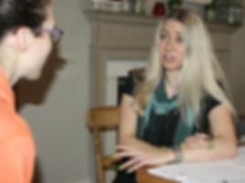 Mariposa coaching session