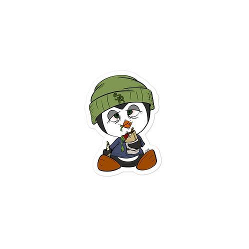 Cali Penguin | Bubble-free stickers