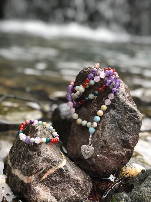 "Mala Bhadra +Armband""Die Freundliche """