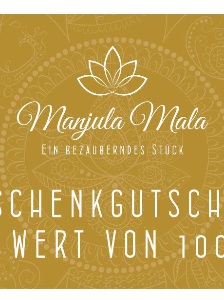 Manjula Mala Gutschein