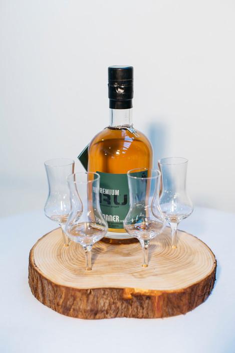 Whisyka - Rum oder SchnapsGläser ohne Boden