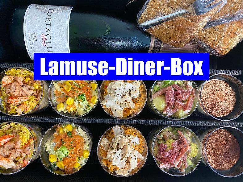 Lamuse-Diner-Box @Home vanaf 2 pers.
