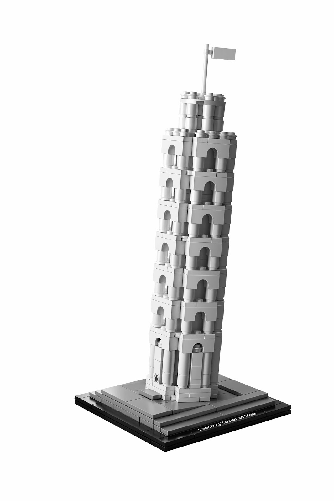 Ontwerper Toren Van Pisa.Legoconcurrent Lego Architecture