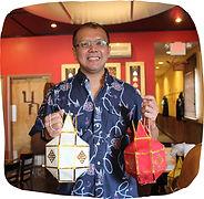Restaurant owner Norraset Nareedokmai at Kiin Laos & Thai Eatery in Pittsburgh, PA