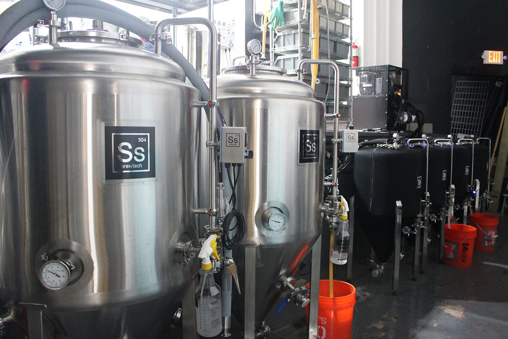 Funds to buy SS Brewtech fermentation tanks, brewery, microbrewery, nanobrewery