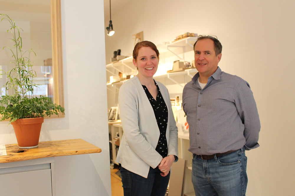Katie LaForest and Andrew Moss, mossArchitects