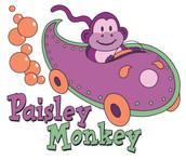 Cleveland Paisley Monkey Logo