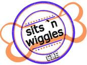 Sits n Wiggles Cleveland Logo