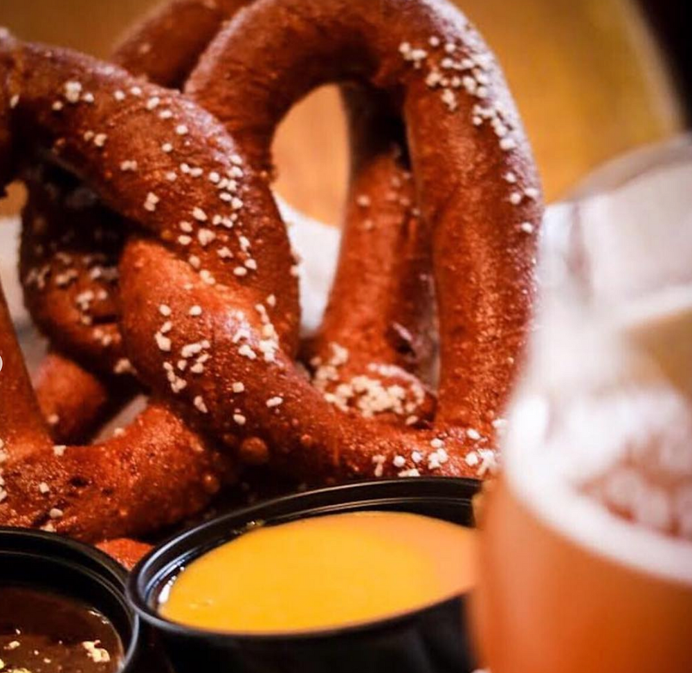 Pretzels from the Harmony Inn in Pittsburgh