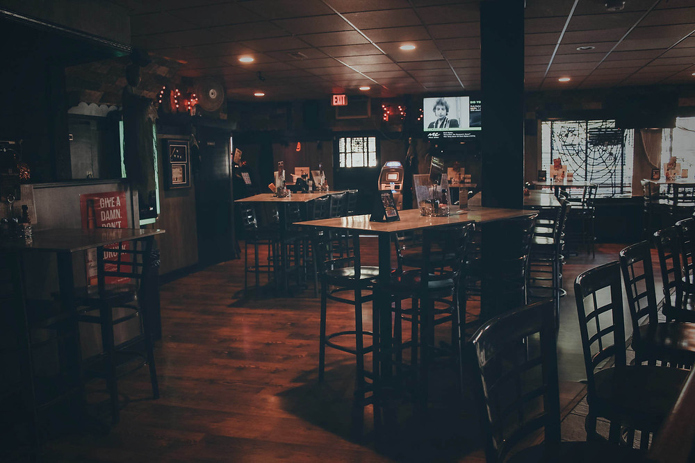 interior of Pub in the Park in Pittsburgh