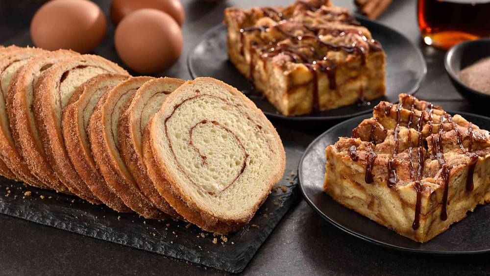 a selection of Jennie Lee Swirl Bread from 5 Generation Bakers in Pittsburgh