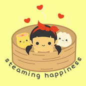 Steaming Happiness Logo