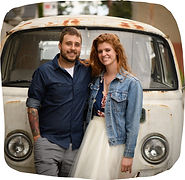 Jacqueline and Nathan Schoedel, owners of The Speckled Egg, a Downtown Pittsburgh brunch restaurant
