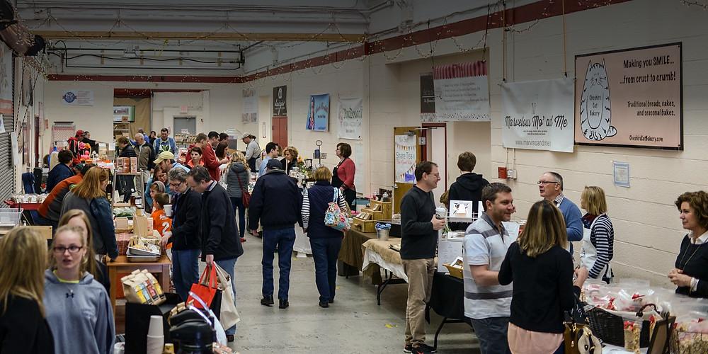Artisan Exchange's year-round Saturday Market