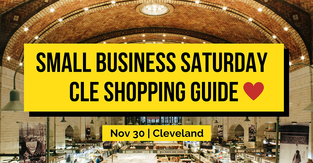 Small Business Saturday Cleveland Shopping Guide