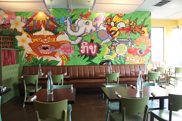 Inside of Kiin Laos & Thai Eatery, a Pittsburgh restaurant that brought Laos food to the city