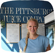 Small business owner Naomi Hoppel at The Pittsburgh Juice Company