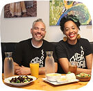 Keyla Nogueira Cook and Tim Guthrie, owners of Casa Brasil, a restaurant in Pittsburgh, PA