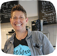 Small business owner Sherree Goldstein, owner of Square Cafe and My Goodness in Pittsburgh