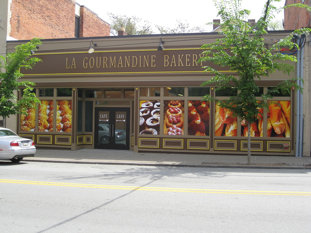 Storefront of La Gourmandine Bakery in Pittsburgh