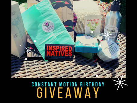Why I'm doing a Birthday Giveaway