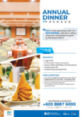 Seminar Metting & Premium Dinner Package