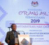 Konvensyen Orang Asli Kebangsaan 2019 ya