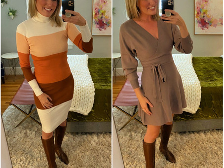Affordable Sweater Dresses