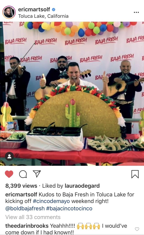 Baja Fresh Eric