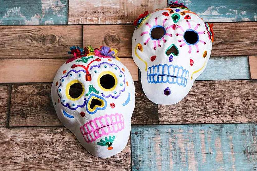 Sugar Skulls for Halloween Friday 30th October 10 am - 12 pm