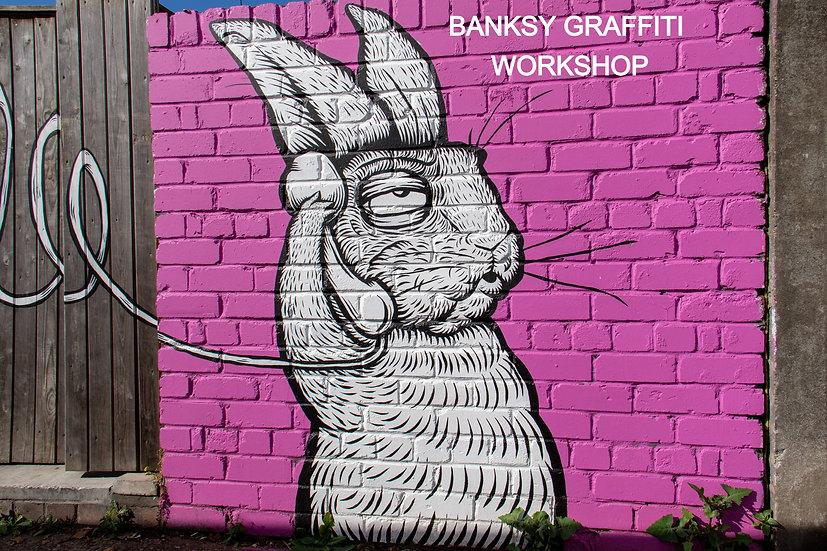 Graffiti WORKSHOP Thursday 29th July 10.30-1.30