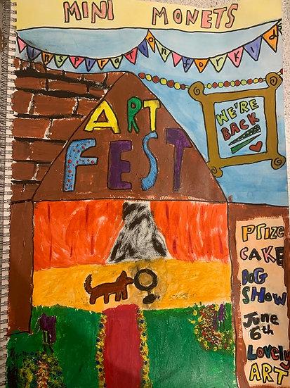 Artfest family ticket